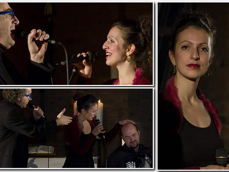 Konzert Séférian in Münster, u.a. Marie Séférian, Piotr Ragno.